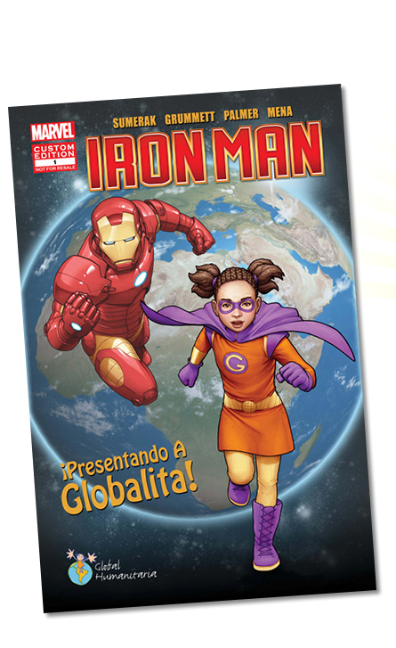 Iron Man, custom Global Humanitaria